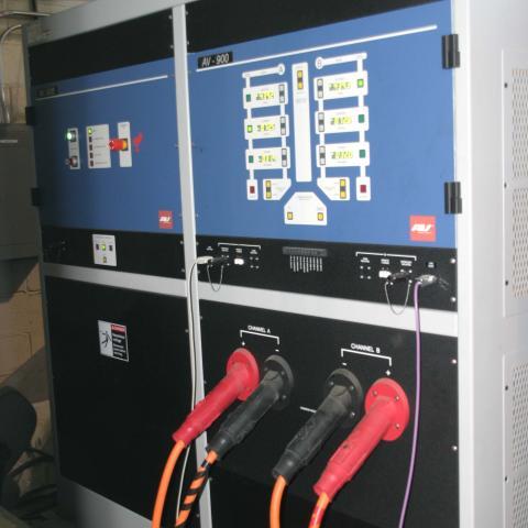 AV900 High Power Direct  Current Test Bench